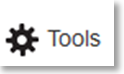 """Button """"Tools"""""""